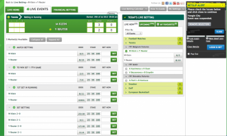 Paddy Power live betting tennis